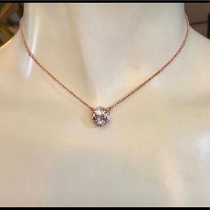 Kate Spade Rose Gold-Tone Lady Marmalade Necklace